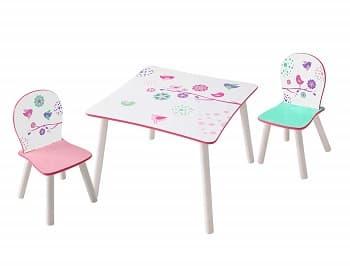 conjunto mesa y sillas niños