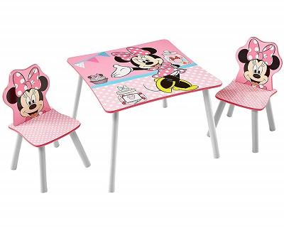 juego de mesas y sillas de plastico NIÑOS
