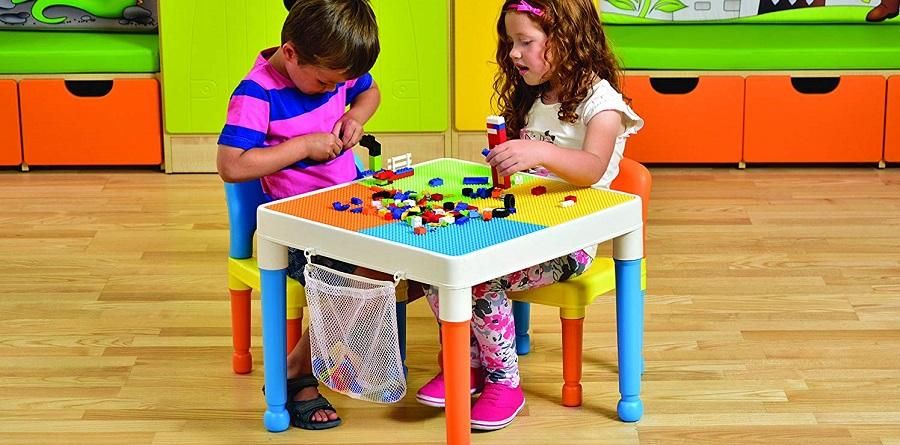 mesas y sillas infantiles de plastico