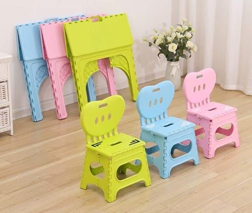 mesas y sillas plegables niños