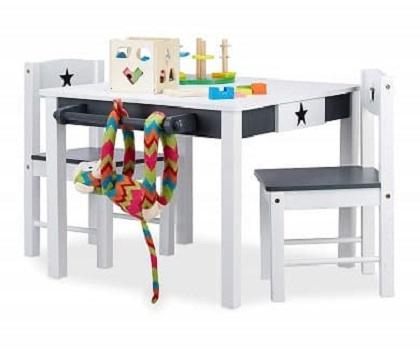 mesita y sillas infantiles en madera precios