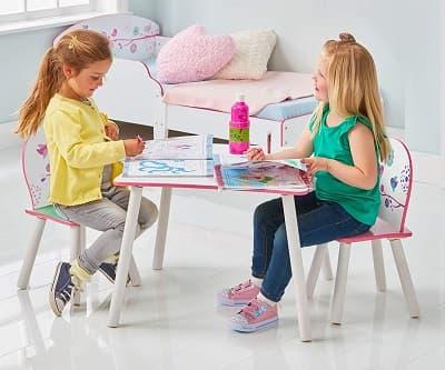 mobiliario infantil sillas y mesas
