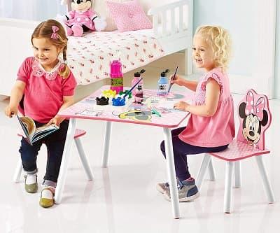 set de mesa y sillas infantiles niñas